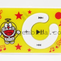 MP3 Mini Player Karakter Doraemon - Kuning