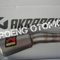Knalpot / Kenalpot Slip On Akrapovic Original Slovenia For Yamaha R25