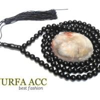 Jual Tasbih Batu Giok Hitam Import|black original jade Murah