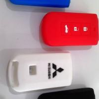 silikon cover key remote mitsubishi all new pajero sport, outlander