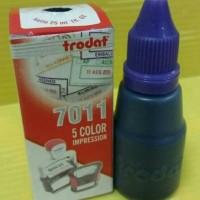 Tinta Stempel Trodat 7011 Warna Ungu / Violet