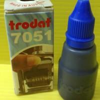 harga Tinta Stempel Nomor Otomatis Trodat 7051 Warna Biru Tokopedia.com