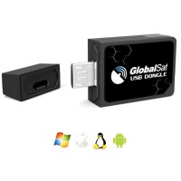 GPS Micro USB Interface ND105C Receiver - Black