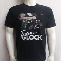 harga Kaos Katun Hitam ~ Team Glock Tokopedia.com