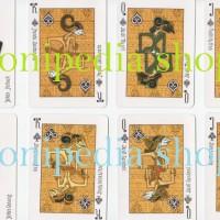 Kartu Remi WAYANG Jawa + Booklet ~ Java Classical Playing Cards Unik