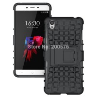Bumper Heavy Armor Stand Slim Hard Soft Case Cover Casing Oneplus X