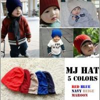 (Grosir/Seri) Kupluk MJ Hat / Kupluk Bolak Balik Import