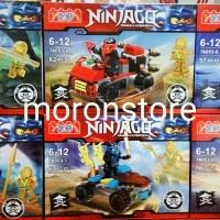 Brick Lego YG Minifigure Ninjago Master of Spinjitzu Set 6 Keren
