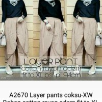 layer pants coksu