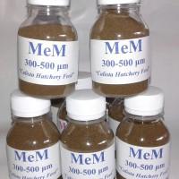MeM 300-500/ pakan larva/ pakan ikan cupang/ paka ikan koi