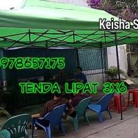 harga Tenda Cafe Lipat American Matic Ukuran 3x6 / Tenda Lipat Portable Tokopedia.com