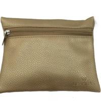 Original GEARMAX Exclusive Multi-purpose Pouch Side Zipper  Leather