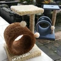 mainan kucing/cat scratcher/cat condo/rumah kucing/car tree