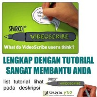 CARA MEMBUAT VIDEO PROMOSI - SPARKOL VIDEO SCRIBE + SOFTWARE
