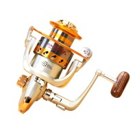 Yumoshi Gulungan Pancing EF6000 Metal Fishing Spinning Reel 12 Ball