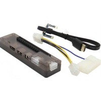 Laptop External Video Card VGA Dock Mini PCI-E V8.0 EXP GDC - Black