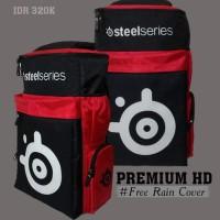 harga Backpack Premium HD Red Steelseries ( Tas Gaming ) Tokopedia.com