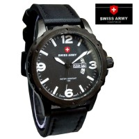Jam Tangan Swiss Army SA 8039 Black White Jam Pria Original Murah