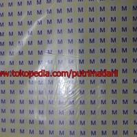 Stiker Size Huruf S M L XL XXL XXXL Ukuran Campur