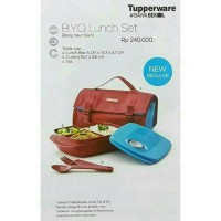 Jual B.Y.O (BRING YOUR OWN) LUNCH SET TUPPERWARE Murah