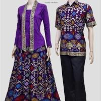 harga Couple batik sarimbit kebaya baju pesta pasangan seragam SRG 377 Tokopedia.com