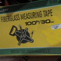 Meteran 50 Meter Sellery Fiberglass Measuring Tape