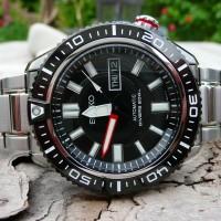 Seiko Automatic SKZ325K1 Diver 200M Black   Jam Pria SKZ325