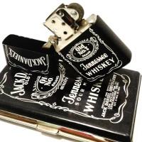 Jual paket kotak rokok+zippo jackdaniel(alcoholic) Murah