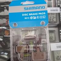 Brakepad resin/ kampas rem Shimano B01S untuk Alivio,non-series,Tektro