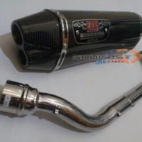 Knalpot Racing Nmax Fullsystem Yoshimura R77 2lubang