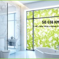 harga SUNBLAST / STIKER KACA / GLASS STICKER SB 038 (L 45CM X Panjang 5M) Tokopedia.com