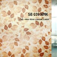 harga SUNBLAST / STIKER KACA / GLASS STICKER SB 039 (L 45CM X Panjang 5M) Tokopedia.com
