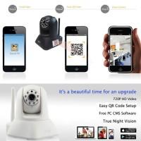 Mini WiFI Wireless IP CCTV Camera Wide Full Rotate + Mobile APP Live