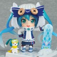 Jual Figure Nendoroid No.570 Hatsune Miku Snow Bell - Snow Owl Ver.2016 Murah