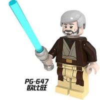 Jual Obi Wan Kenobi Star Wars Minifigure - Lego KW Murah