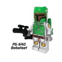 Boba Fett Cloud City Vintage Star Wars Minifigure - Lego KW