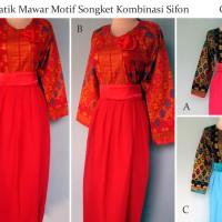 Gamis Batik   Dress Batik   Batik Wanita Modern   Grosir Batik Jogja