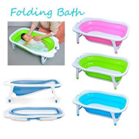 Jual BABY SAFE FOLDING BATH TUB SILICONE/ BAK MANDI BAYI LIPAT Murah