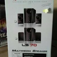 harga Ichiko Ls-70 Multimedia Speaker Aktif 2.1ch Subwoofer Active Bluetooth Tokopedia.com