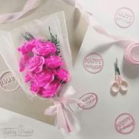 harga Buket Bunga Mawar Flanel Kado Ultah Wisuda Wedding Anniversary Tokopedia.com