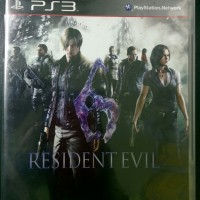 BD PS3 Resident Evil 6 / RE / RE6