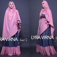 Gamis Syari Murah / Gamis Lyra Virna Syari Premium Original