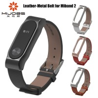 Jual Leather Strap Mi Band 2 OLED Mijobs ORIGINAL Murah
