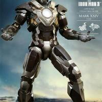 Hot Toys Iron Man Mark 24 XXIV TANK MISB ORIGINAL / Hottoys Ironman