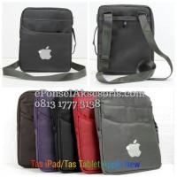 Tas Selempang iPad, Tas Tablet Apple New busa tebal jinjing