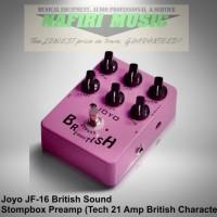 Efek Gitar Joyo JF-16 British Sound (Marshall Amp clone) baru murah