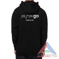 hoodie / sweater PSP go -black - back logo