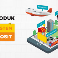 Bisnis Online Reservasi Tiket Pesawat, KA, Pulsa, PPOB dalam 1 SISTEM