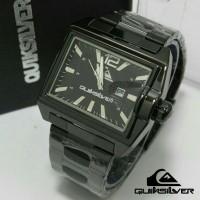 Jam Tangan Quicksilver Date Steel Black Untuk Pria