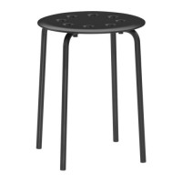 harga IKEA MARIUS (Bangku warna Hitam) Tokopedia.com